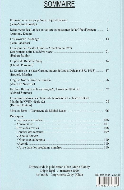 Bulletin 185 Sommaire