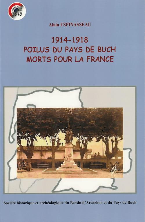 1914-1918 POILUS DU PAYS DE BUCH MORTS POUR LA FRANCE-recto